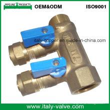 OEM et ODM Composé en laiton forgé à deux voies forgé (AV9068)