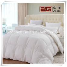 Hochwertige Super Soft Cotton Cover Weiße Gans Daunendecken