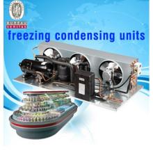 R22 r404a холодильный компрессор малогабаритные холодильные агрегаты конденсаторные агрегаты для бывших в употреблении рефрижераторных установок для грузовых автомобилей