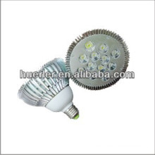 Fábrica directa 100-130v llevó par38 bombillas e27e26b22 2700k-7500k 12w led luz par