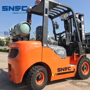 2.5Tons Gas Forklift Price