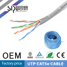 SIPUO red cat5e utp cable patch cable de alta calidad por mayor