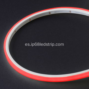 Evenstrip IP68 Dotless 1012 RED Lámpara de tira led de Top Bend