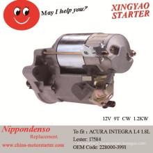 Del Sol (1996-1997) Used Motor Starter for Honda Civic (Lester 17584)