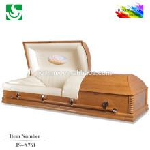 JS-A761 bois belles finitions cercueils