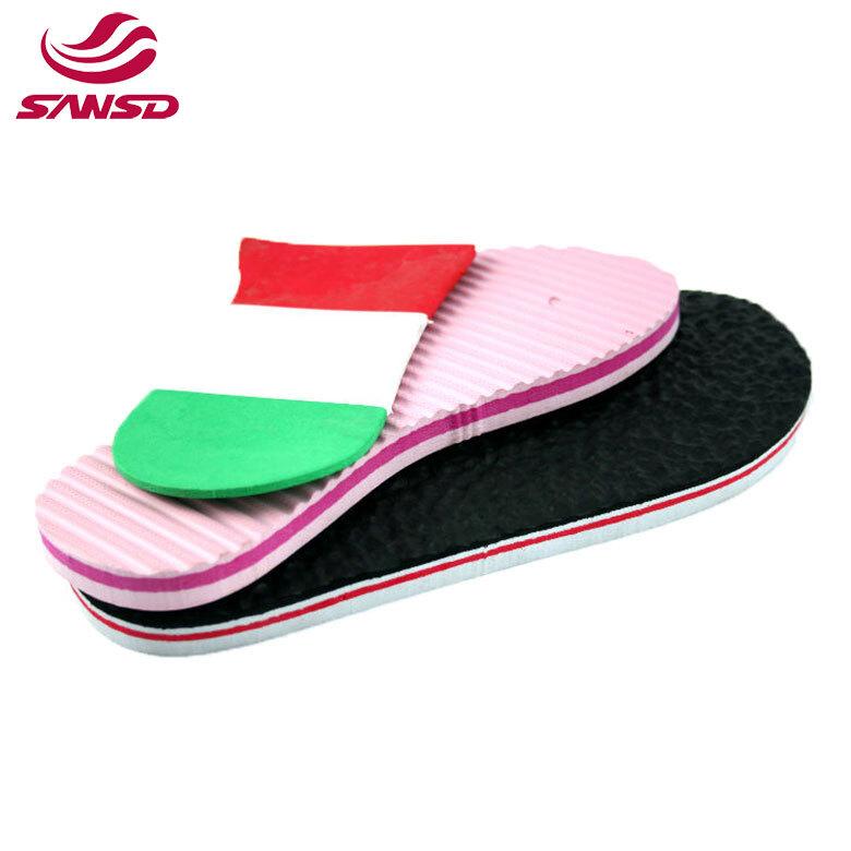 High density pattern design eva outsole for slipper