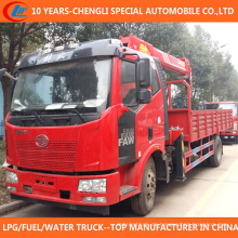 China Superior 6t 7t LKW mit Kran 4X2 LKW Kran