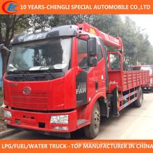 China Superior 6t 7t Truck with Crane 4X2 Truck Crane