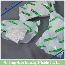 The plaster of paris made by cotton gauze and plaster powder