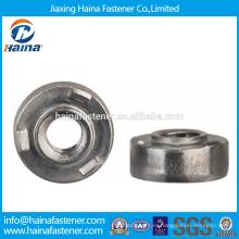На складе Китайский производитель Лучшая цена нержавеющая сталь круглый Сварная гайка круглый Сварная гайка