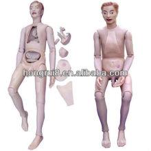 Mannequin de formation en soins infirmiers masculins de haute qualité ISO