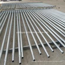 4m 5m 6m 7m 8m 9m 10m 11m 12m Hot Deep Galvanized Pole in Stock