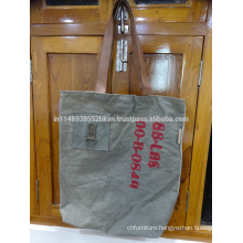 Grey Long Tote Bag
