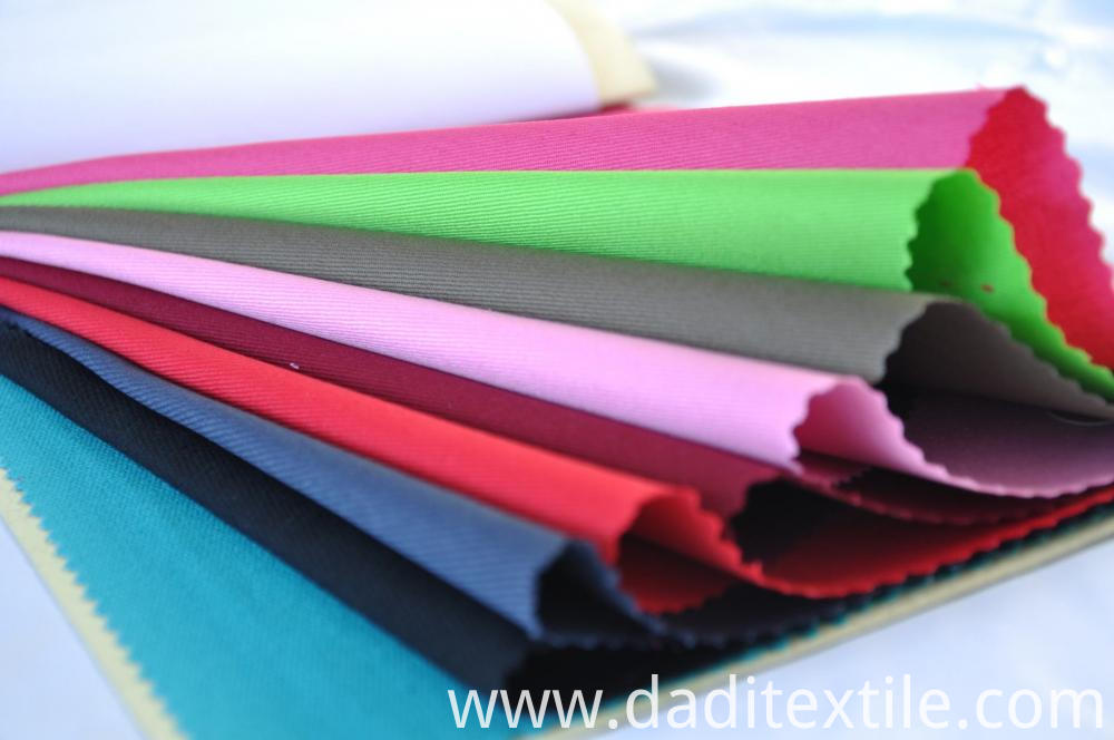 Cloth fabric polyester and cotton textile
