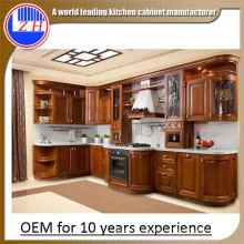Gabinetes de cocina de lujo del estilo europeo para los muebles caseros (viejo estilo)