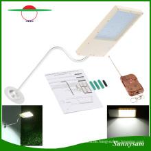 Solarbetriebene 18 LED Straßenlaterne Automatische Lichtsensor Outdoor Garten Weg Spot Licht Wand Notfall Lampe Luminaria mit Fernbedienung