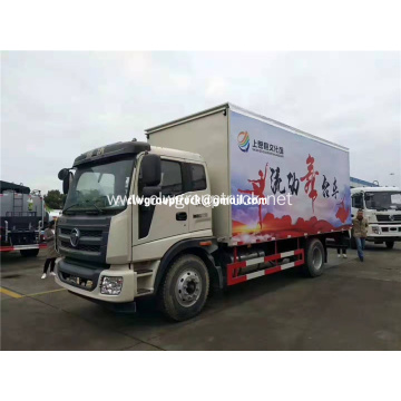 Hydraulic Control Stage Mobile Stage Truck For Roadshow