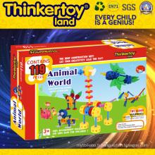 Vente en gros de jouets éducatifs en plastique pour enfants DIY
