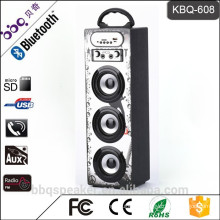 BBQ 15W 1200mAh battery 2016 newst Wooden portable kids karaoke bluetooth speaker outdoor