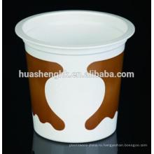 Заводская цена Пищевой прозрачный пластиковый круглый одноразовый стакан с молочным коктейлем 10 унций / 315 мл