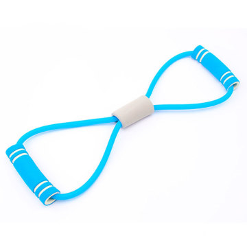 Wholesale Yoga Fitness Body Building Chest Expander Yoga Fitness 8 Word Resistance Pull Rope