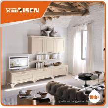 Mueble de madera maciza más nuevo de la venta caliente de la TV