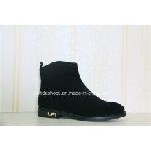 Elegante Art- und Weiseentwurfs-Dame Leather Boot