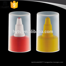 nozzle plastic spout cap with transparent whole cap