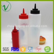 Customized volume cylinder wholesale empty LDPE plastic dropper bottle