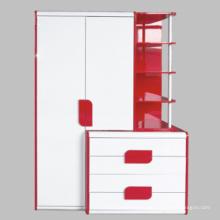 Holz Schrank Set/Hochglanz Möbel (10319-3)