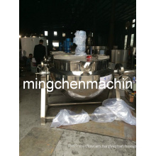 600 L Tilting, Agitating Jacketed Electric Kettle