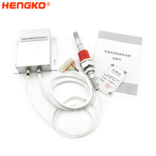 Industrial humidity and temperature transmitter permanent high temperature humidity sensor and polluted environment