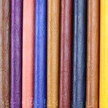 Calidad garantizada Anti-Mildew PVC sintético cuero del sofá (908 #)
