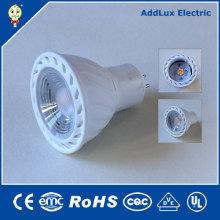 110V 220V Dimmable 5W Gu5.3 COB LED Spotlight Lighitng