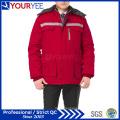 Cheap Workwear Winter Warm Work Uniform with Reflective Tape (YMU122)