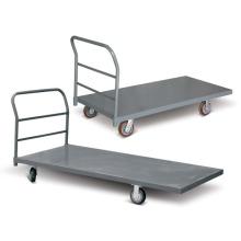 Carro de mano de plataforma de acero pesado