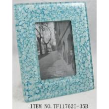 Beautiful Fused Glass Photo Frame