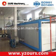 Forno de cozimento de secagem de aço inoxidável na linha de revestimento