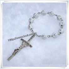Finger Rosary / Plastic Finger Rosary / Cross Beads Finger Rosary (IO-CE020)