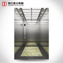 ZhuJiangFuji 1600-2000KG the size of hospital elevators bed lift passenger lift machine room size