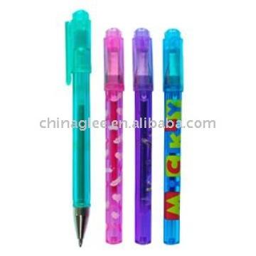 ручки гель блеск