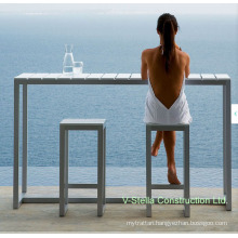 Outdoor Aluminum Plywood Patio Furniture