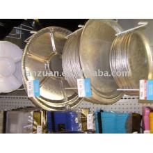 bandeja de papel de alimentos de aluminio
