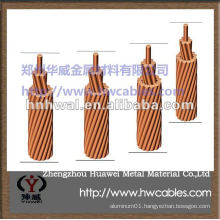 Bare Copper Wire Conductor for lightning protection