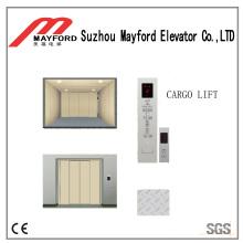 Bom elevador de carga pintado da folha com sala da máquina