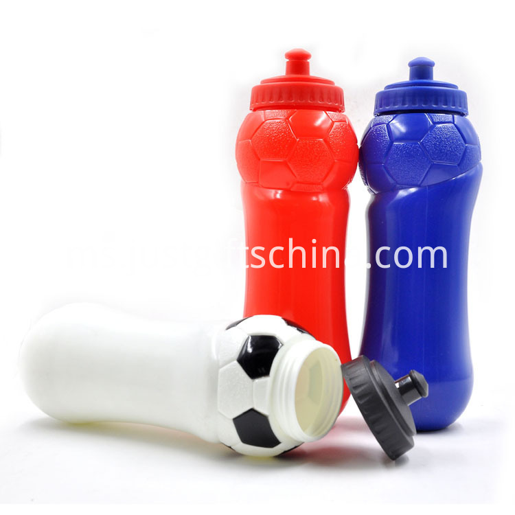 Customized Football Shaped Water Bottles