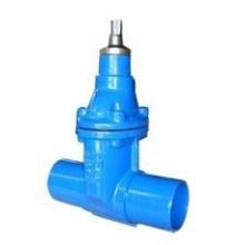 Válvula de porta da extremidade do torneira dútile do ferro do revestimento da cola Epoxy dos Wras
