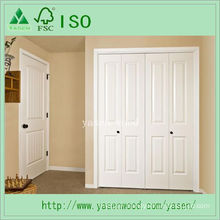 White Primed Wooden Composite Interior Door