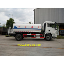 SHACMAN 11 Ton Truck Water Tanks