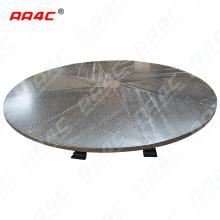 AA4C 360 degree galvanized Rotary Hydraulic Parking Rotating Platform Car Turntable for Auto show heavy duty rotating tunrntable